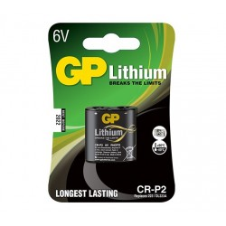 GP lithiová baterie 6V CR-P2 1ks blistr