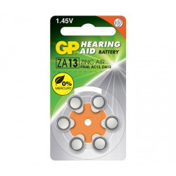 GP baterie do naslouchadel ZA13 6ks blistr