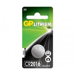 GP lithiová baterie 3V CR2016 1ks blistr