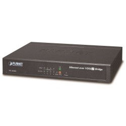 Planet VC-234G, Ethernet VDSL2 konvertor, 4x 1000Base-T, master/slave, profil 30a, G.993.5 Vectoring, G.INP