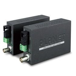 Planet VF-106G-KIT opto konvertor, 1x video (AHD/TVI/CVI/CVBS), 1x RS-485, singlemode (SC), pár