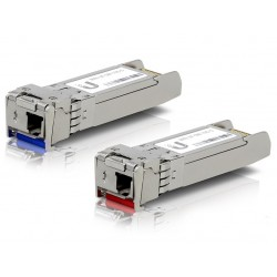 UBNT Single-Mode optický modul SFP+, 10Gbit, BiDi - sada 2 kusů