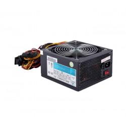 EUROCASE zdroj 650W/ ATX-650WA-14/ 14cm fan/ PFC ATX 20/24pin/ 3x SATA