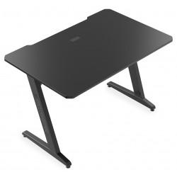 SPC Gear herní stůl  GD100 / výřezy pro kabeláž / stabilní / černý