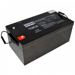 GOOWEI ENERGY Pb záložní akumulátor VRLA GEL 12V/250Ah (OTL250-12)