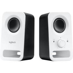 Logitech repro Z150 Multimedia Speakers/ 2.0/ 3W/ 3.5mm jack/ Snow White-bílý