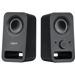 Logitech repro Z150 Multimedia Speakers/ 2.0/ 3W/ 3.5mm jack/ Midnight black-černý