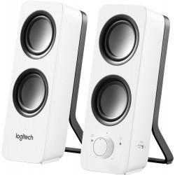 Logitech repro Z200 Multimedia Speakers/ 2.0/ 10W/ 3.5mm jack/ Snow White-bílý