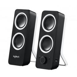Logitech repro Z200 Multimedia Speakers/ 2.0/ 10W/ 3.5mm jack/ Midnight black-černý