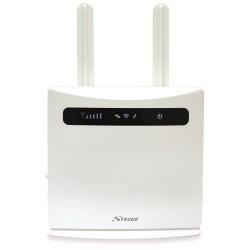 STRONG 4G LTE Router 300/ Wi-Fi standard 802.11 b/g/n/ 300 Mbit/s/ 2,4GHz/ 4x LAN (1x WAN)/ USB/ SIM slot/ bílý