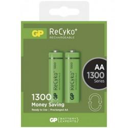 GP nabíjecí baterie AA NiMH 1300mAh ReCyko+ 2ks blistr