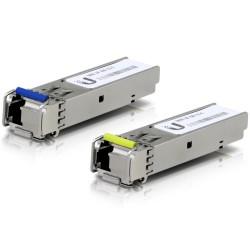 UBNT UF-SM-1G-S - U Fiber, Single-Mode Module, 1G, BiDi, 2-Pack