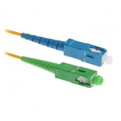 WAVERF optický patch kabel, SC(upc) -SC(apc), Singlemode, Simplex, 1m