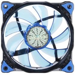 AKASA LED ventilátor Vegas / AK-FN091-BL / 120mm / výška 25mm/ 3pin PWM/ modrý