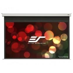 """ELITE SCREENS plátno elektrické motorové stropní 92"""" (233,7 cm)/ 16:9/ 114,6 x 203,7 cm/ Gain 1,1/ 12"""" drop"""