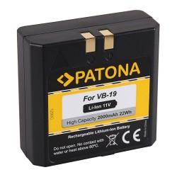PATONA baterie pro foto GODOX VB18/VB19 2000mAh Li-Ion 11V
