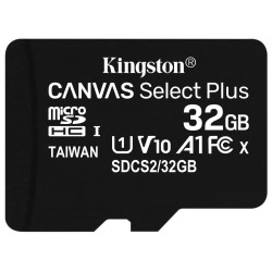 KINGSTON Canvas Select Plus 32GB microSD / UHS-I / CL10 / bez adaptéru