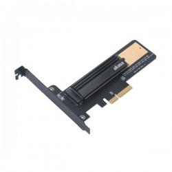 AKASA adaptér M.2 SSD do PCIe x4 / AK-PCCM2P-02 / podporovaná velikost SSD 2230, 2242, 2260, 2280 a 22110