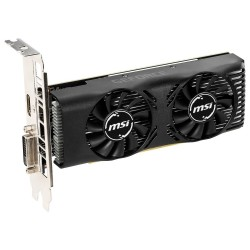 MSI GeForce GTX 1650 4GT LP OC / PCI-E / 4GB GDDR5 / HDMI / DVI-D / low profile
