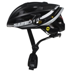 SAFE-TEC Chytrá Bluetooth helma/ TYR3 Black-silver L