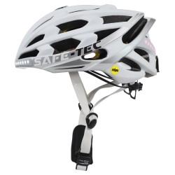 SAFE-TEC Chytrá Bluetooth helma/ TYR3  White XL