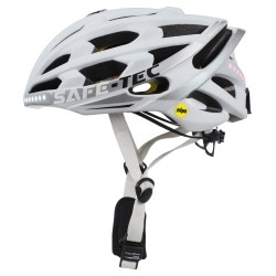 SAFE-TEC Chytrá Bluetooth helma/ TYR3  White L