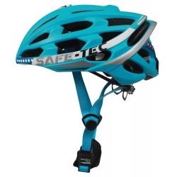 SAFE-TEC Chytrá Bluetooth helma/ TYR 2 Turquoise L