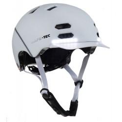 SAFE-TEC Chytrá Bluetooth helma/ SK8 White M