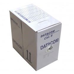 DATACOM kabel drát C6 UTP PVC 305m box šedý