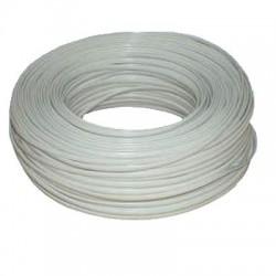DATACOM Telefonní kabel 6-žilový lanko 100m bílý