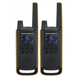Motorola vysílačka TLKR T82 Extreme   2 ks, dosah až 10 km, IPx4, černo/žlutá