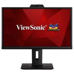 """ViewSonic VG2440V / 24""""/ IPS/ 16:9/ 1920x1080/ 5ms/ 250cd/m2/ DP/ HDMI/ VGA/ USB/ PIVOT/ Repro / webcam / mikrofón"""