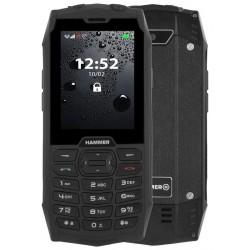 """MyPhone Hammer 4 - černý   2,8""""/ 64MB/ až do 32 GB microSD/ Dual SIM/ IP68"""