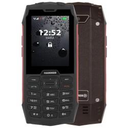 """MyPhone Hammer 4 - červený  2,8""""/ 64MB/ až do 32 GB microSD/ Dual SIM/ IP68"""