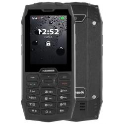 "MyPhone Hammer 4 - stříbrný  2,8""/ 64MB/ až do 32 GB microSD/ Dual SIM/ IP68"