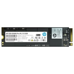 HP SSD EX900 Pro 512GB / Interní / M.2 / PCIe Gen 3 x 4 NVMe 1.3 / 3D TLC