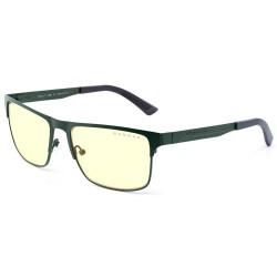 GUNNAR herní brýle PENDLETON / obroučky v barvě MOSS / jantarová skla