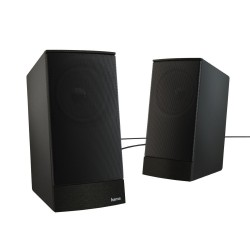 HAMA reproduktory k notebooku a PC Sonic LS-208/ 2.0/ 8W/ 3,5 mm jack/ černé
