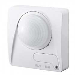 ELEKTROBOCK Pohybové čidlo IR22B   univerzální, 3 senzory pro kruhové snímání, detekční úhel 360°, vnitřní