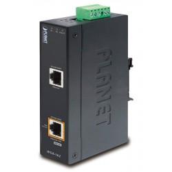 Planet IPOE-162 PoE injektor IEEE802.3at, 30W, Gigabit, DIN, IP30, -40~75°C, 12-48VDC