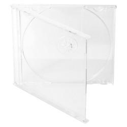 COVER IT box jewel + tray/ plastový obal na CD/ 10mm/ čirý/ 10pack