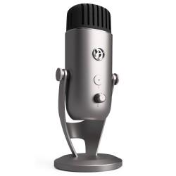AROZZI mikrofon COLONNA/ stříbrný