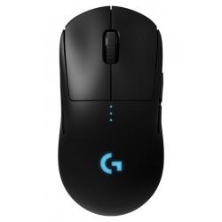 Logitech myš Gaming G PRO/ Bezdrátová/ Optická/ 25600dpi/ USB přijímač/ černá