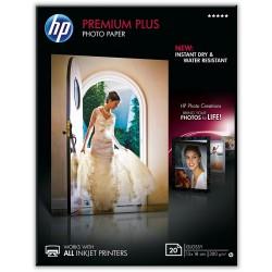 Lesklý fotopapír HP Premium Plus Glossy Photo Paper, 20 listů / 13 x 18 cm