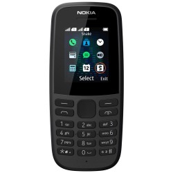"Nokia 105 DS 2019   1,77""/ DualSIM/ černá"