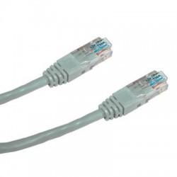 DATACOM Patch kabel UTP CAT5E 15m (x) šedý křížený
