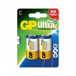 GP alkalická baterie 1,5V C (LR14) Ultra Plus 2ks blistr