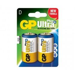 GP alkalická baterie 1,5V D (LR20) Ultra Plus 2ks blistr