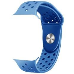 IMMAX řemínek pro chytré hodinky SW10/ SW13/ SW13 PRO/ Apple watch/ modrý