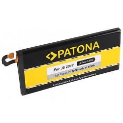 PATONA baterie pro mobilní telefon Samsung Galaxy J5/2017/ 3000mAh 3,85V Li-Pol